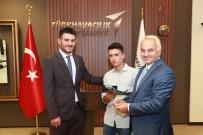 ÇAVUŞLU - (Özel) Hayvan Otlatırken Uçak Mühendisi Olmayı Hayal Eden Öğrenci, TUSAŞ'ta İşe Başladı
