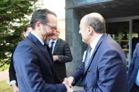 HÜSEYİN ÇELİK - Rektör Bircan, YÖK Başkanı Saraç İle Bir Araya Geldi