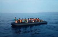 Sahil Güvenlik Ekipleri Afgan Mültecileri Böyle Kurtardı