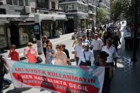 SAĞLIKLI HAYAT - Samsun'da Sağlık Yaşam Yürüyüşü