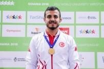 GÜREŞ MİLLİ TAKIMI - Sancaktepe Belediyesporlu Mustafa Sessiz Dünya Şampiyonu