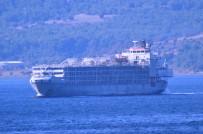 Şarbon İddiasına Sebep Olan Gemi Çanakkale Boğazı'ndan Geçti