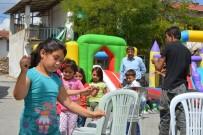 PAMUK ŞEKER - Seyitgazi'de Çocuklar Şenlendi