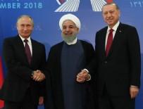 Tahran'daki tarihi zirvede Erdoğan'dan çağrı