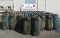 KAÇAK MAZOT - Van'da 3 Bin Litre Kaçak Akaryakıt Ele Geçirildi