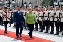 MAKEDONYA CUMHURİYETİ - Almanya Başbakanı Merkel Makedonya'da