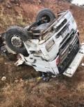 Araç Şarampole Yuvarlandı Açıklaması1 Yaralı