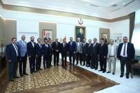 ADEM ALI YıLMAZ - ATO Heyetinden Sağlık Bakanı Koca'ya Ziyaret