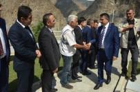 NIHAT ÖZDEMIR - Bakanlar Turhan Ve Pakdemirli Sular Altında Kalacak Yusufeli'nde İncelemelerde Bulundu