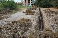KADıOĞLU - Belediyeden Kadıoğlu Sokağına Yeni Su Hattı