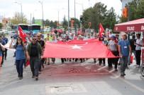 TÜRKIYE DAĞCıLıK FEDERASYONU - Dağcılar 4 Eylül Ruhuyla Yürüdü