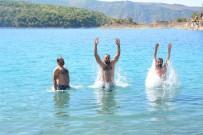 NEMRUT - Dünyanın İkinci Büyük Krater Gölünde Serinliyorlar