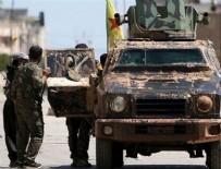 KONTROL NOKTASI - Esed güçleri ile YPG/PKK Haseke'de çatıştı