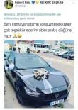 GELİN ARABASI - Fenerbahçe Eski Yöneticisinden Taraftar Damada Jest
