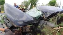 ERSİN ARSLAN - Gaziantep'te Trafik Kazası Açıklaması 2 Yaralı