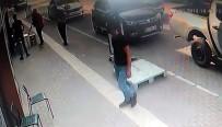 Gelin arabalı soygun girişimi kamerada