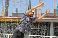YASIN ÖZTEKIN - Göztepe'nin Yenileri Stadyum İnşaatını Gezdi
