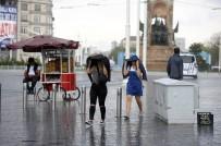 HAVA MUHALEFETİ - İstanbul'a beklenen yağmur geldi