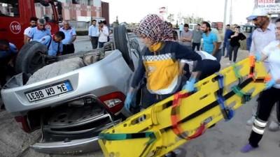Karaman'da Otomobil Devrildi Açıklaması 2 Ölü, 3 Yaralı