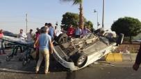 Kilis'te Trafik Kazası Açıklaması 2 Yaralı
