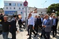 MUSTAFA SAVAŞ - Kültür Ve Turizm Bakanı Ersoy, Kuşadası Limanı'nda İncelemelerde Bulundu