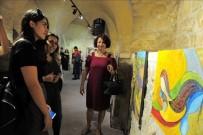 BELLEK - Mardin'de 17 Ressam 'Göçebe Tuvaller' Resim Sergisi Açtı
