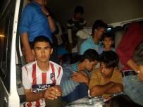 BANGLADEŞ - Muradiye'de 82 Kaçak Göçmen Yakalandı