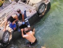 Otomobil Munzur Çayına Uçtu Açıklaması 1 Ölü, 3 Yaralı