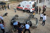Otomobil Takla Attı Açıklaması 2 Ölü, 3 Yaralı