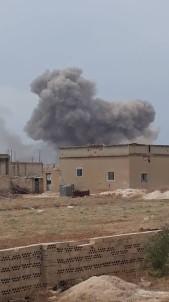 Ruslar İdlib'i vurmaya devam ediyor