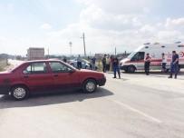 MUSTAFA AKıN - Tavşanlı'da Trafik Kazası Açıklaması 1 Yaralı