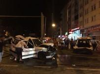 Trabzon'da Zincirleme Trafik Kazası Açıklaması 7 Yaralı