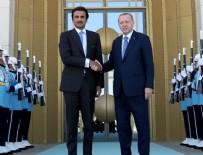KATAR EMIRI - Katar'dan Türkiye'ye destek mesajı