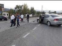 Zonguldak'ta Trafik Kazası Açıklaması 2 Yaralı