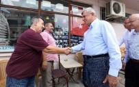 TÜRK DÜNYASI - Başkan Karaosmanoğlu, Köylerde Vatandaşlarla Bir Araya Geldi