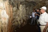 GIZEMLI - Efsaneleriyle Ünlü 40 Odalı Arılı Mağarası Turizme Açılmayı Bekliyor