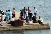 FETÖ Şüphelisi 15 KİŞİ Midilli Adası'na Kaçamadan Yakalandı