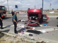 Kütahya'da Trafik Kazası Açıklaması 7 Yaralı