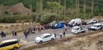 MHP İlçe Başkanı Trafik Kazasında Hayatını Kaybetti