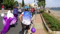 NİKAH SALONU - Nikaha 'Bisikletten Gelin Arabası' İle Gittiler