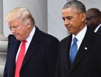BARACK OBAMA - Obama ile Trump arasında gerginlik