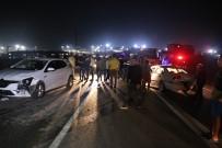 Otomobil 4 Aracı Biçti Açıklaması 1'İ Çocuk 7 Yaralı