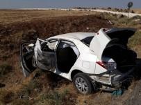 Şanlıurfa'da Otomobil Devrildi Açıklaması 5 Yaralı