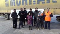 YARDIM MALZEMESİ - 2019 Yılının İlk Yardım Tırı Suriye'ye Gönderildi