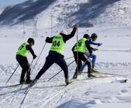 NEMRUT - Bitlis'te 'Kayaklı Koşu' Yarışması