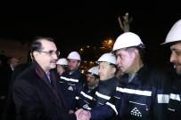 Enerji Bakanı Dönmez Yeni Yıla Elektrik Ve Doğalgaz Çalışanlarıyla Girdi