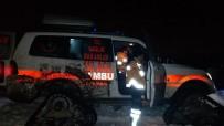 Hasta Çocuğun İmdadına Paletli Ambulans Yetişti