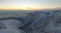 Kahramanmaraş'ta Kartpostallık 'Kar' Manzarası