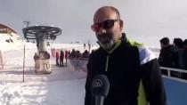 Küpkıran'da Kayak Sezonu Açıldı