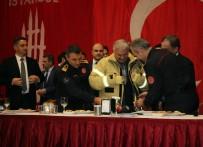 EMNİYET TEŞKİLATI - Meclis Başkanı Yıldırım Yeni Yıla Polis Memurlarıyla Birlikte Girdi